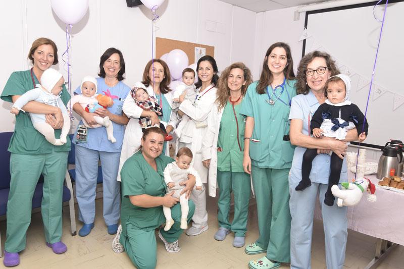 Profesionales del equipo de Neonatología