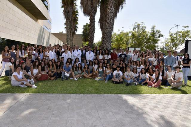Estudiantes de Medicina, Enfermería y Fisioterapia de nueva incorporación