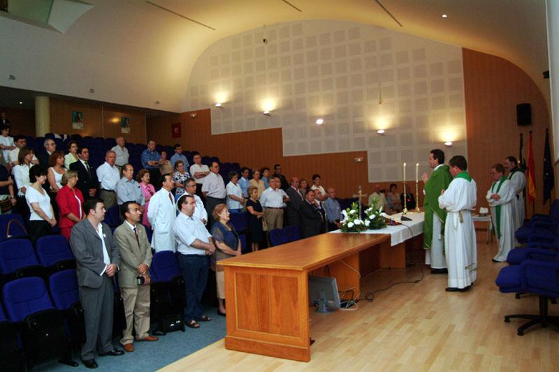 Ecucaristía celebrada durante la Semana del Donante. 2004