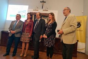 Rafael Soto, Valle García, Manuel Pan, Begoña Escribano y Antonio Garcia