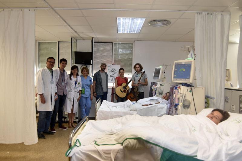 Tras actuar para pacientes en diálisis