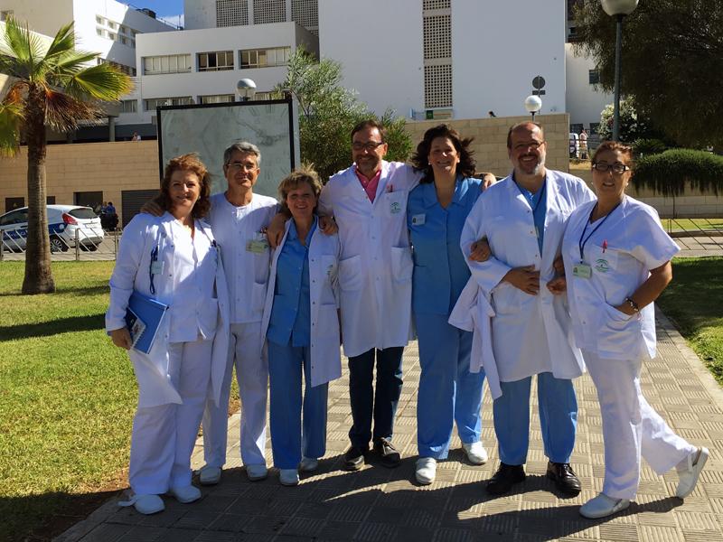 Grupo de supervisores del hospital. 2016