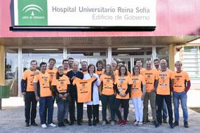 Equipo media maratón de Córdoba