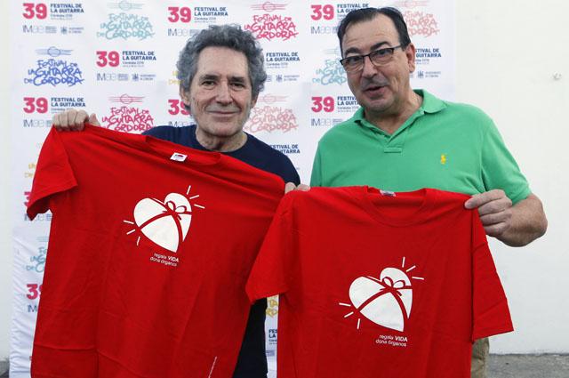Miguel Ríos y el Dr. Robles