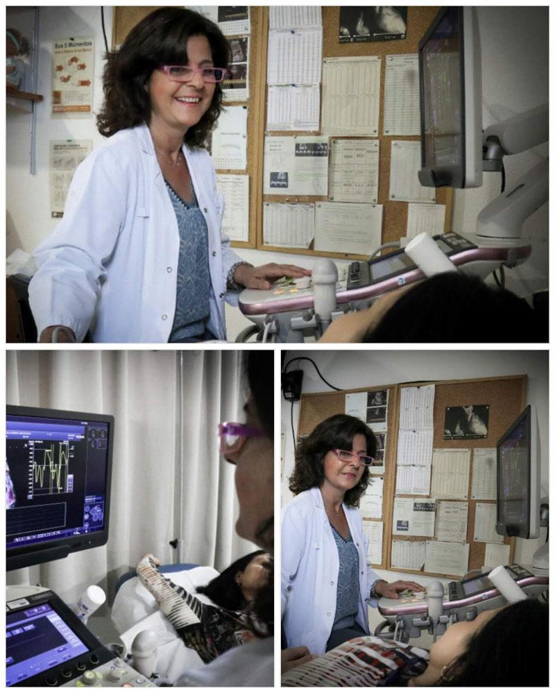 Mónica Miño, responsable consulta medicina fetal.