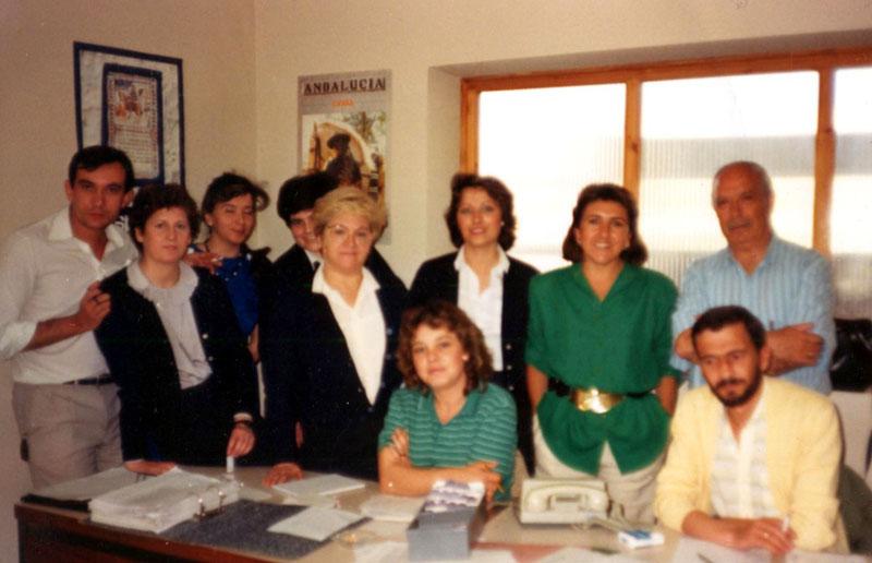 Personal de admisión. 1987