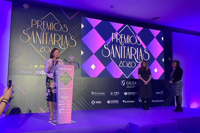 Redaccion Medica reconoce a Valle Garcia en la tercera edicion de los premios