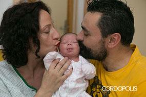 Nace en el Reina Sofía, Martina la primera andaluza del año