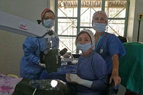 Profesionales del hospital reina sofía participan en un proyecto de cooperación