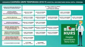 Cartel campaña gripe 2018-19