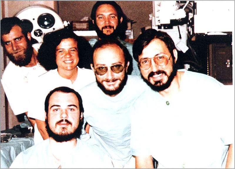 Radiólogos en los años 70.