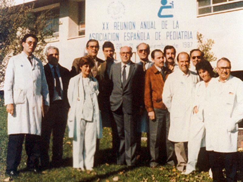 Reunión de la Sociedad Española de Pediatría. 1990