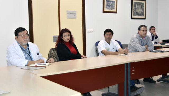 El grupo está compuesto por profesionales del HURS y del Distrito Córdoba y Guadalquivir
