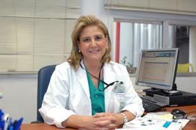 La responsable de la Unidad de Gestión Clínica de Cirugía Pediátrica Rosa Mª Paredes
