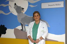 La cirujana pediátrica Rosa Mª Paredes