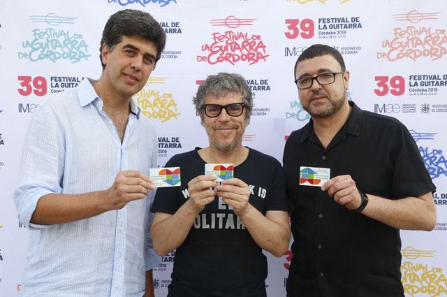 José María Dueñas, Iván Ferreiro y José Antonio Ramírez