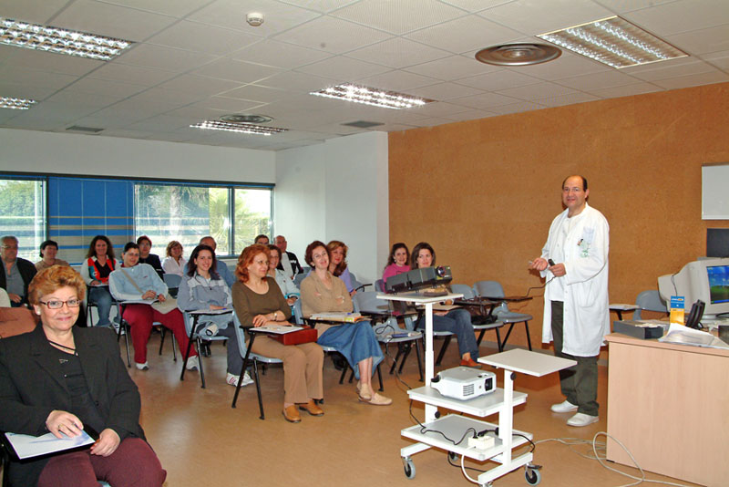 Se cumplen diez años de la puesta en marcha de la Escuela de la Espalda. . 2006