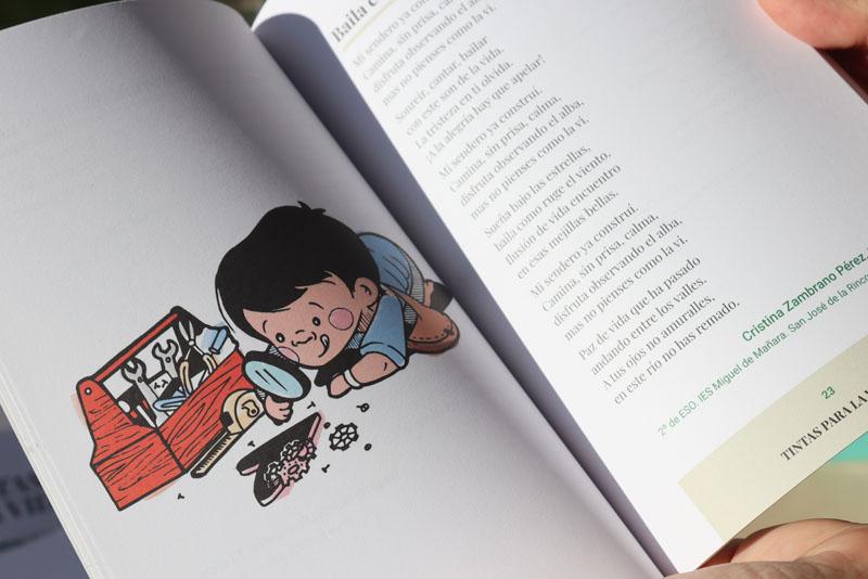 07 La alumna de Diseño de la Complutense de Madrid Marta García ha realizado las ilustraciones