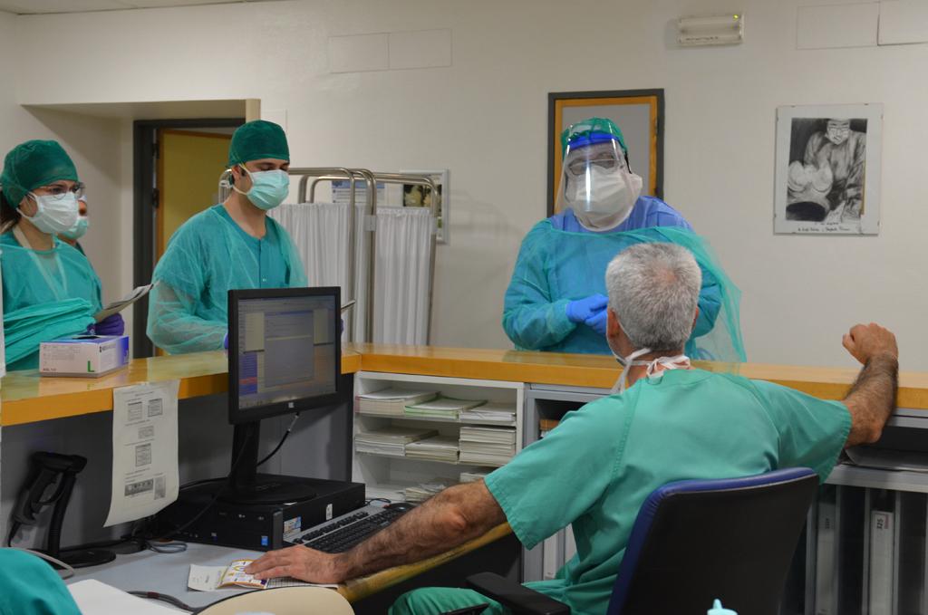 Imagen COVID-19. Unidades Hospitalización