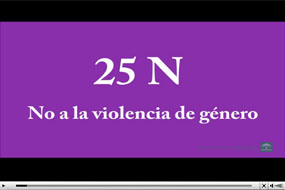 25 de Noviembre. No a la violencia de género