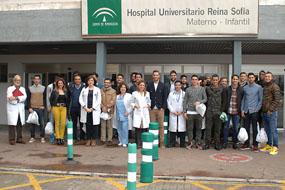 Visita del Córdoba C.F.