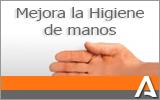 Enlace a página sobre Mejora la higiene de manos (abre en ventana nueva)