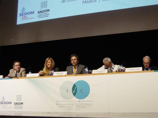 Mesa de ponencias Información para la calidad científico-técnica