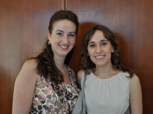 Doctoras Marta Camacho Cano y María José Palomo Viciana