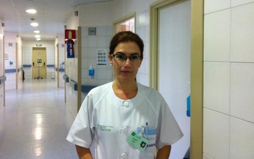 Begoña Martín, enfermera del Hospital Regional de Málaga