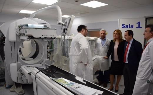 El Hospital Regional de Málaga incorpora una nueva gammacámara con TAC