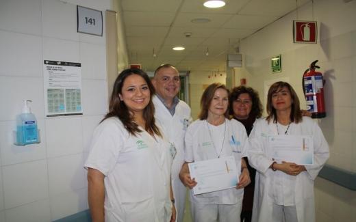 Distintivo 'Manos Seguras' del Observatorio para la Seguridad del Paciente