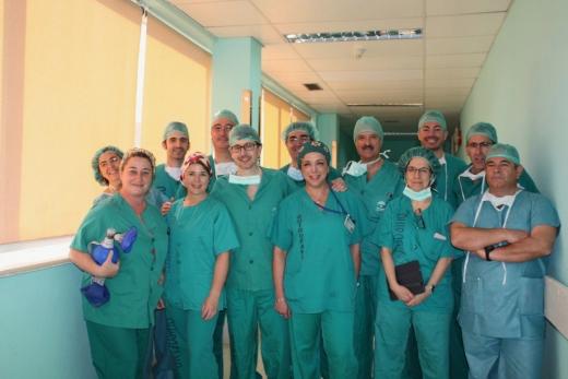 Participantes del encuentro sobre Cirugía de Glándula Tiroidea