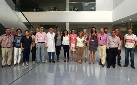 Comité de seguridad y salud de los hospitales públicos de Málaga