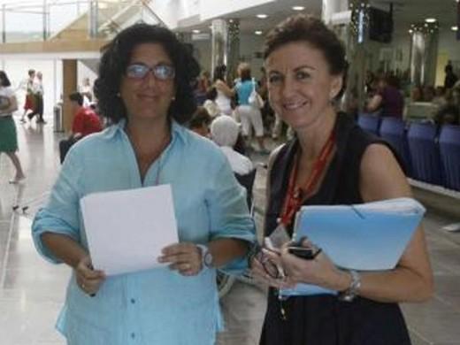 Responsables Atención Ciudadana, Concepción de la Rubia y María Isabel González