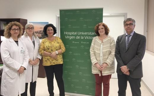El Hospital Virgen de la Victoria y la Fundación Cudeca firman un convenio