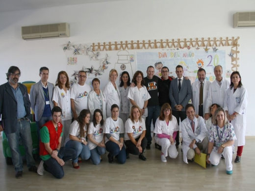 Celebración en el Hospital Materno Infantil del Día Internacional de la Infancia