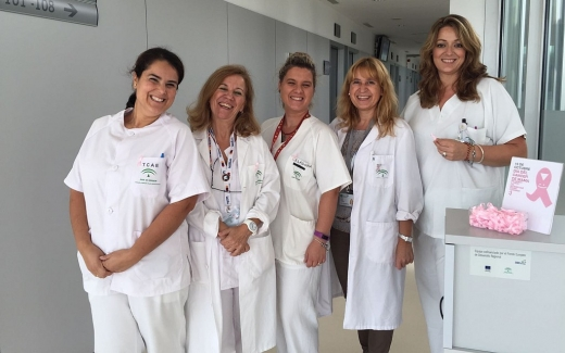 El hospital Valle del Guadalhorce comprometido en concienciar contra en cáncer