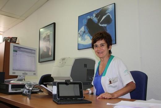 La presidenta de la Sociedad Española de Documentación Médica, Carolina Conejo