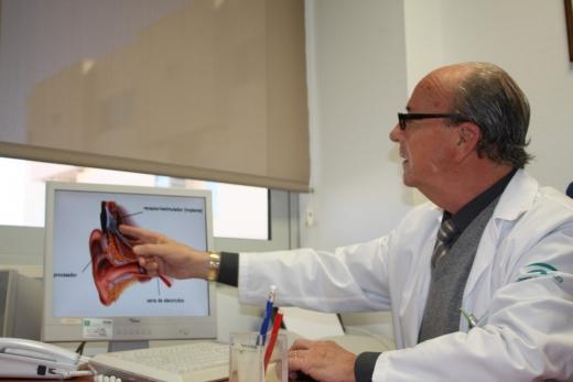 Gabriel Rodríguez Baró, jefe del servicio de Otorrinolaringología del Hospital