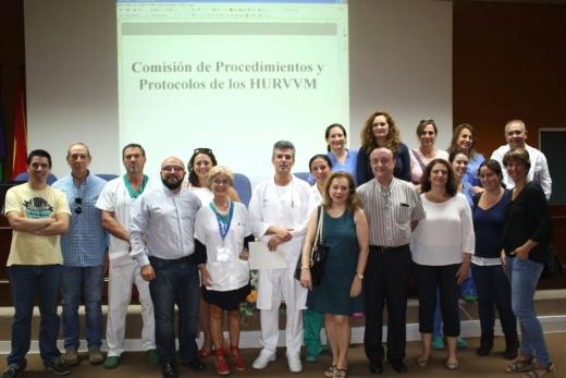 Comisión de Procedimientos y Protocolos de Actuación en Enfermería