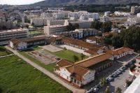 Imagen aérea del Hospital Marítimo de Torremolinos, en la zona de la playa