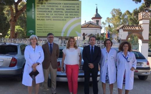 El Hospital Marítimo de Torremolinos inicia las obras de conservación