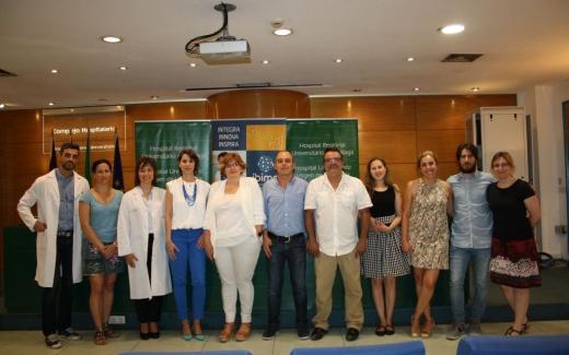 Profesionales de la sanidad pública malagueña y del IBIMA representan a España