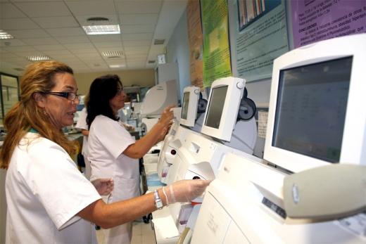 Laboratorio del Hospital Universitario Virgen de la Victoria
