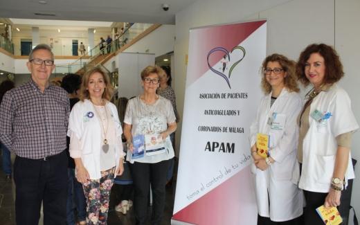 Más de un centenar de usuarios del Hospital Virgen de la Victoria