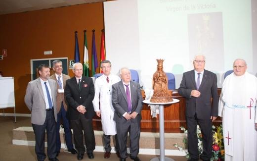 El Hospital Virgen de la Victoria estrena imagen religiosa