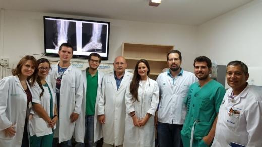 Residentes de Cirugía Ortopédica y Traumatología del Hospital Regional
