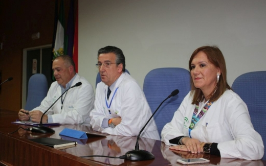 Presentación del nuevo director gerente de los hospitales públicos de Málaga