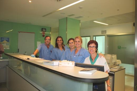Profesionales de Enfermería de la unidad de Medicina Interna