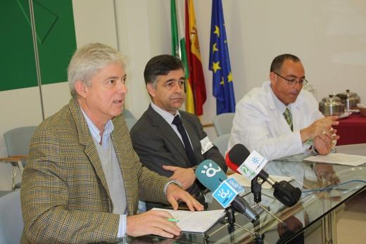Rafael del Pino, José Antonio Medina y Antonio González